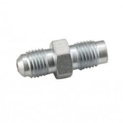 OBP - 7/16 MALE CONCAVE TO MALE TO MALE CONCAVE HOSE ADAPTOR