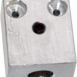 OBP - ALUMINIUM ACCELERATOR TWIN CABLE BLOCK