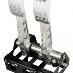 OBP - PRO RACE V2 FLOOR MOUNTED COCKPIT FIT 2 PEDAL SYSTEM (BRAKE & CLUTCH)