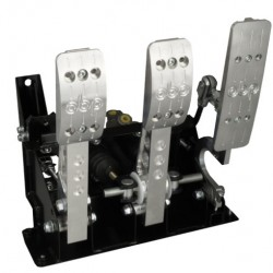 OBP - PRO RACE V2 KIT CAR FLOOR MOUNTED 3 PEDAL SYSTEM (CABLE CLUTCH)
