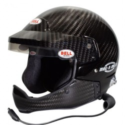 BELL RACE HELMET - MAG9 RALLY CARBON HCB