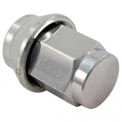 GRAYSTON WHEEL NUTS - FORD GHIA NUTS / CHROME PLATED