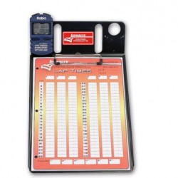 LONGACRE CLIPBOARD - 1 CAR STOPWATCH CLIPBOARD WITH ROBIC™ SC 606W