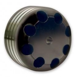LONGACRE CASTER/CAMBER GAUGE ADAPTORS - BILLET MAGNETIC CASTER/CAMBER GAUGE ADAPTOR