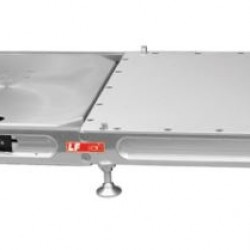 """LONGACRE - BILLET ONE PIECE ROLL OFF LEVELERS WITH 2 BUILT IN SIDE SLIDERS FOR 2 1/2"""" PADS"""