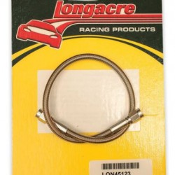 "LONGACRE BRAKE LINES & KITS - BRAKE LINE 16"" #3 WITH #3 AN BOTH ENDS"