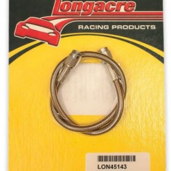"LONGACRE BRAKE LINES & KITS - BRAKE LINE 18"" #3 WITH #3 AN BOTH ENDS"