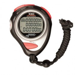 LONGACRE HAND HELD - MEMORY STOPWATCH WITH CASE
