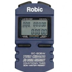 LONGACRE HAND HELD - ROBIC™ SC 606W STOPWATCH
