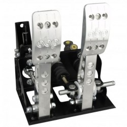 OBP FLOOR MOUNTED 2 PEDAL BULKHEAD FIT CABLE CLUTCH PEDAL BOX (OBPC162PR V2)