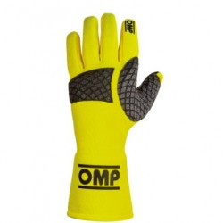 OMP GLOVES - RACING / FLUO MECHANIC