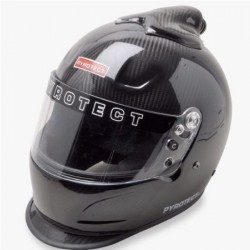 PYROTECT RACE HELMET - PRO AIRFLOW DUCKBILL TOP FORCED AIR CARBON