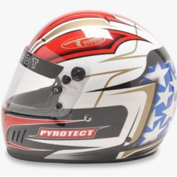 PYROTECT RACE HELMET -  PRO AIRFLOW FULL FACE PATRIOT GRAPHIC