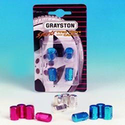 GRAYSTON TYRE VALVE CAPS